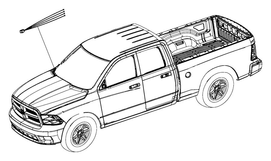 Ram 3500 Wiring kit. Trailer tow. Trailer brake jumper