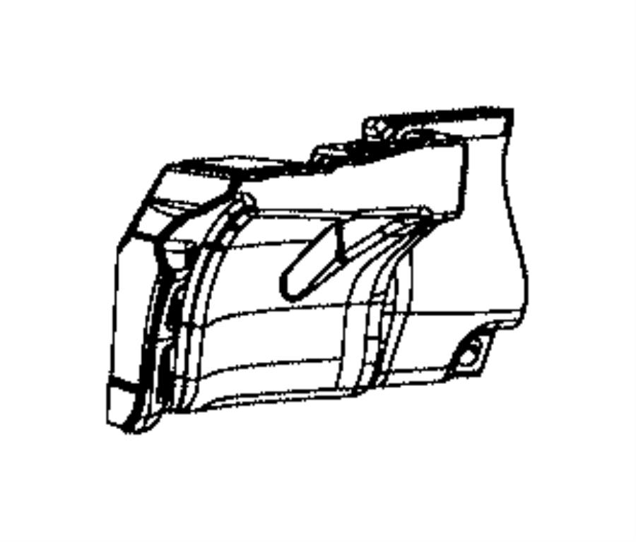 Ram 2500 Bracket. Roof. Lower. [no cargo partition], [no