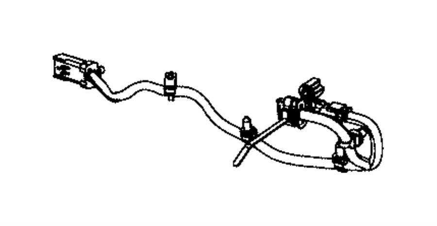 Jeep Grand Cherokee Wiring. Jumper. [quadra-trac ii (r