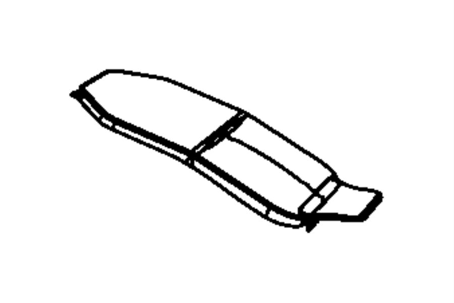 Jeep Grand Cherokee Lid. Load floor. [indigo blue/brown