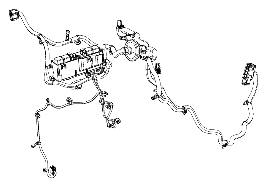 Jeep Cherokee Wiring. Dash. Export. [automatic headlamp