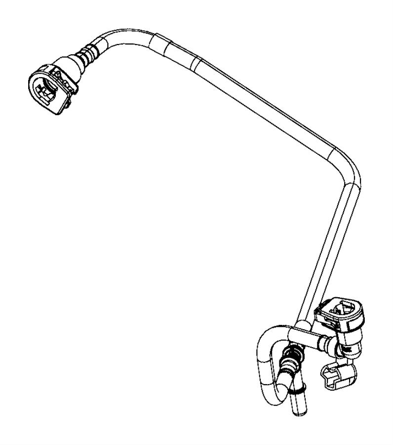 Dodge Durango Hose. Purge. Vacuum, harness, fca, emission