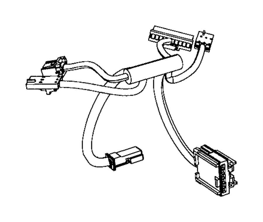 Dodge Challenger Wiring. Steering wheel. Trim: [no