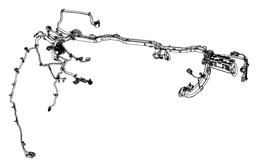 Ram 3500 Wiring. Dash. [man shift-on-the-fly transfer case