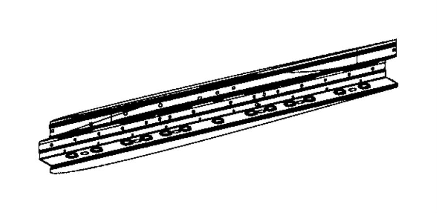 Ram 2500 Reinforcement. Side panel. Left. Body, wheel