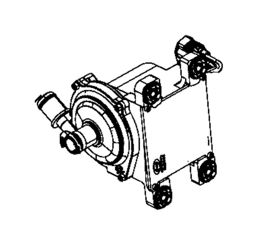 Dodge Charger Pump. Auxiliary coolant. Ltr, system, mopar