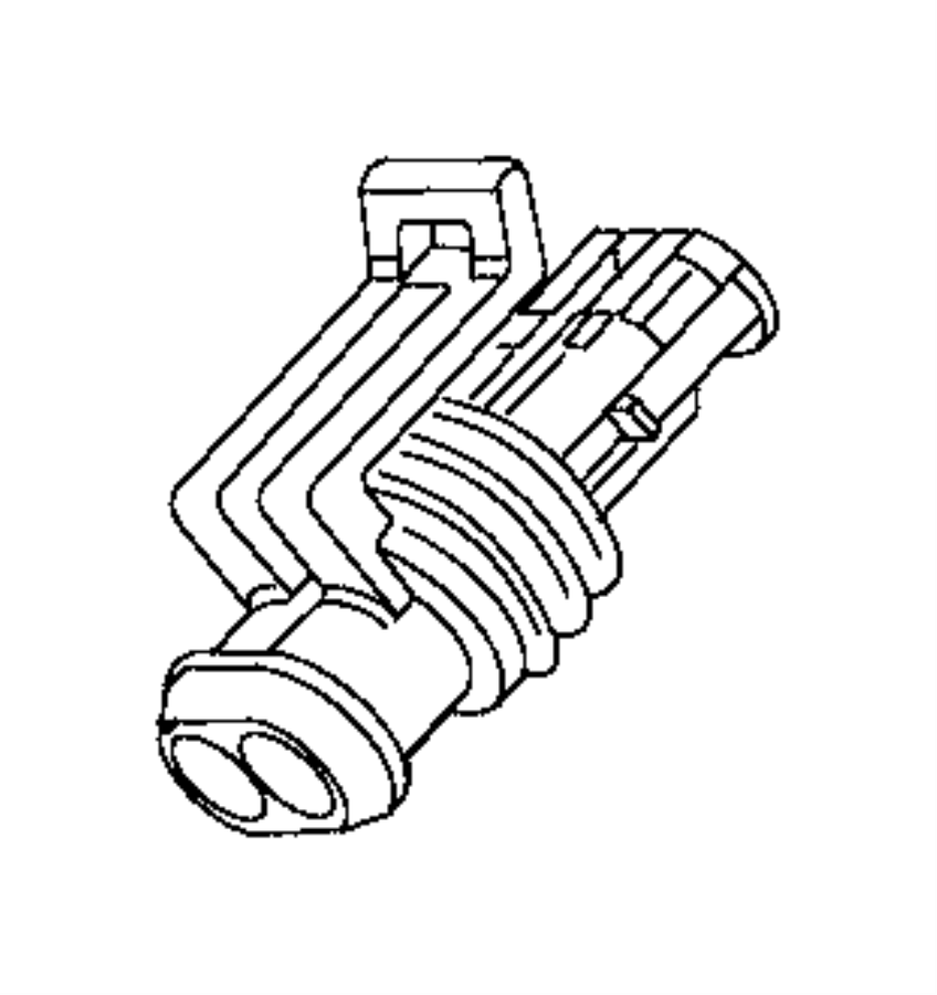 Ram ProMaster City Connector. Electrical. Export, us