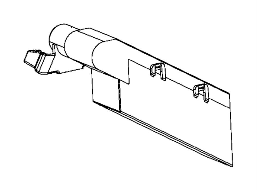 Jeep Compass Canister, filter. Fuel vapor canister, vapor
