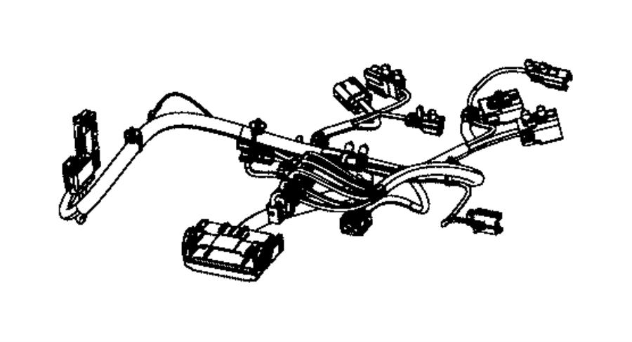 Jeep Grand Cherokee Wiring. Seat cushion. Passenger