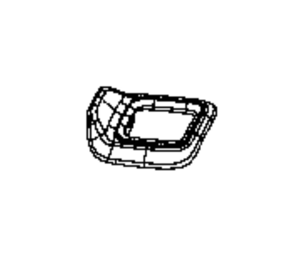 Jeep Compass Bezel. Seat back release. Right. Trim: [no