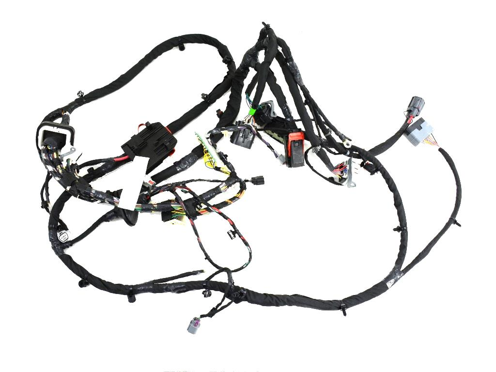 Dodge Durango Bracket. Connector. Dash harness to rail