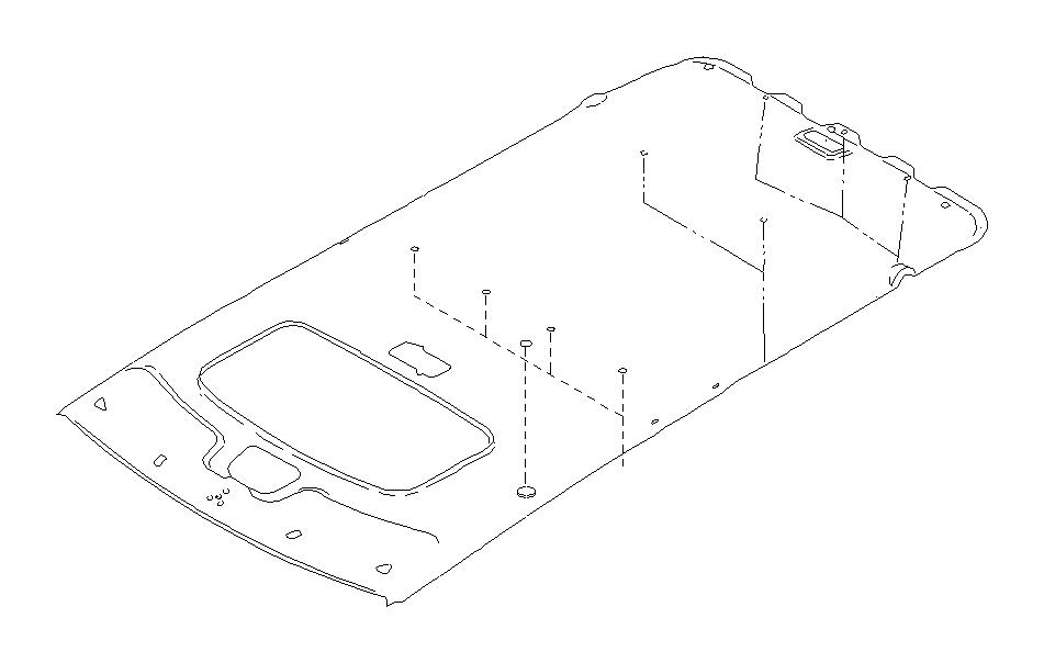 Subaru Legacy Clip. (Grey, Light). EXC.SN/R. LIGHT COOL