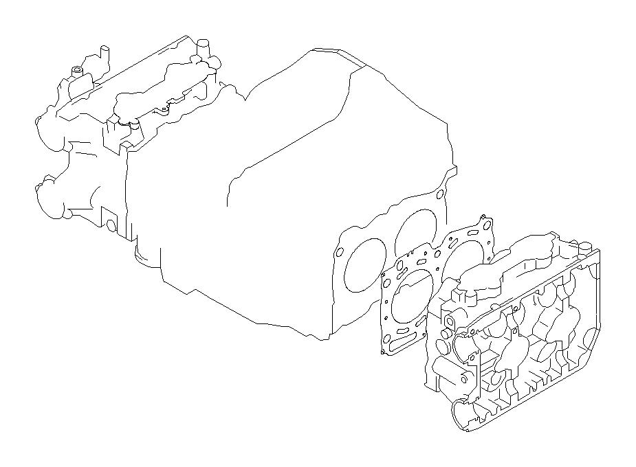2004 Subaru Forester Gasket-cylinder head. System, engine