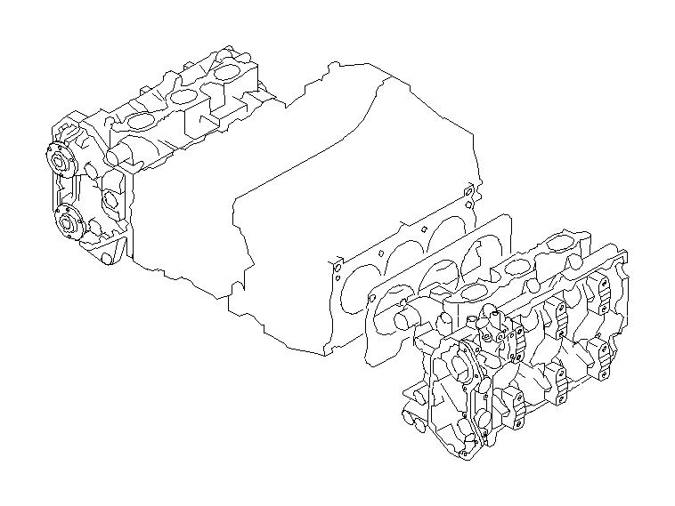 Subaru Tribeca Gasket-cylinder head 2. System, engine