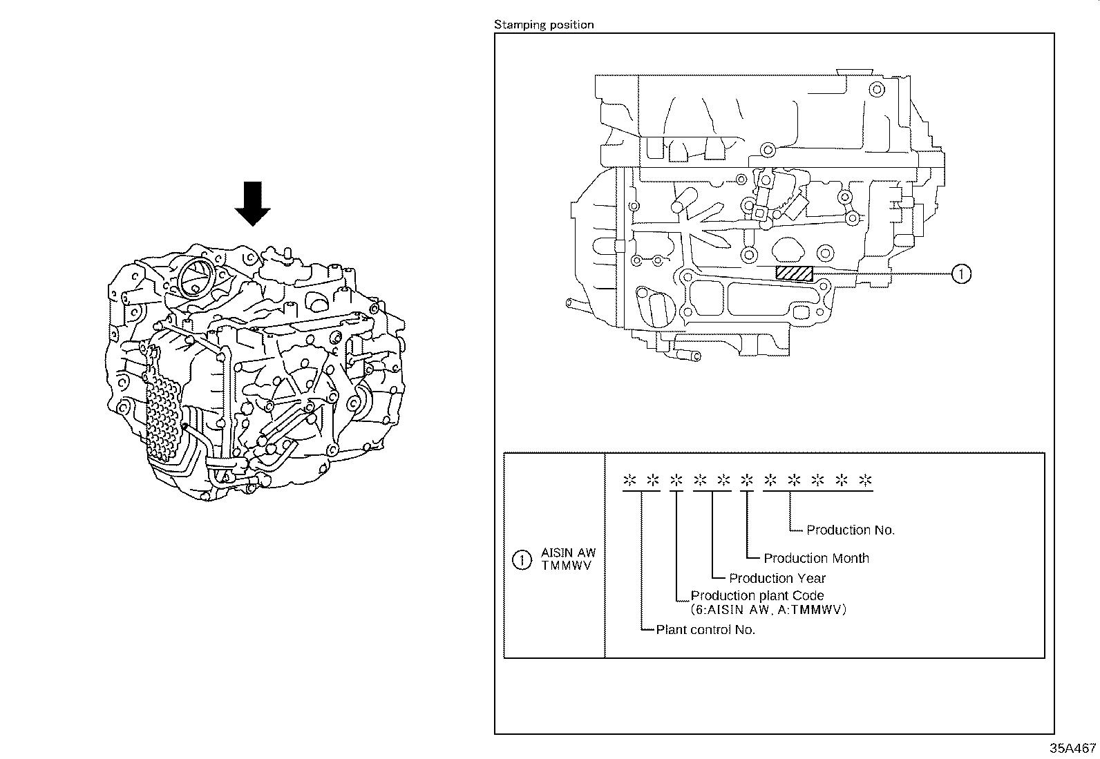 Toyota Highlander Transaxle Assembly Automatic