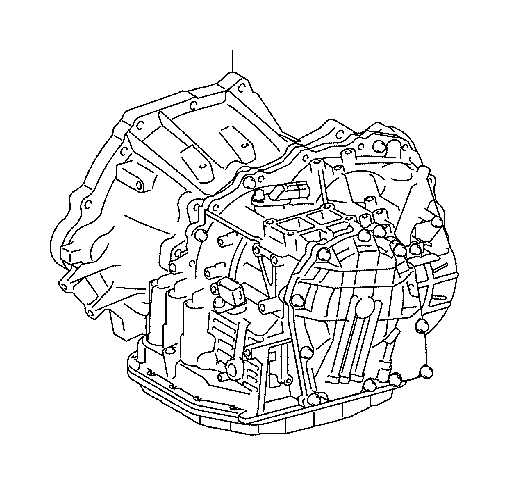 Toyota Yaris Automatic Transmission. Assembly, ATM