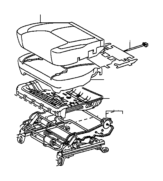 Toyota Sienna Seat Frame (Left, Right, Front). Frame, Seat