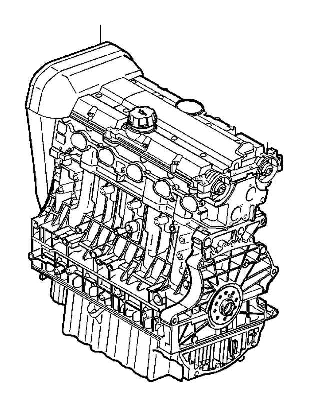 2003 Volkswagen Passat Engine Complete Assembly. Engine