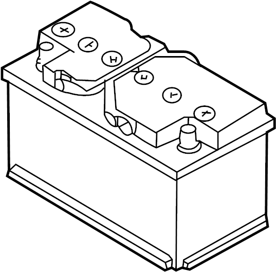 Volkswagen Jetta Battery. Vehicle Battery. Audi