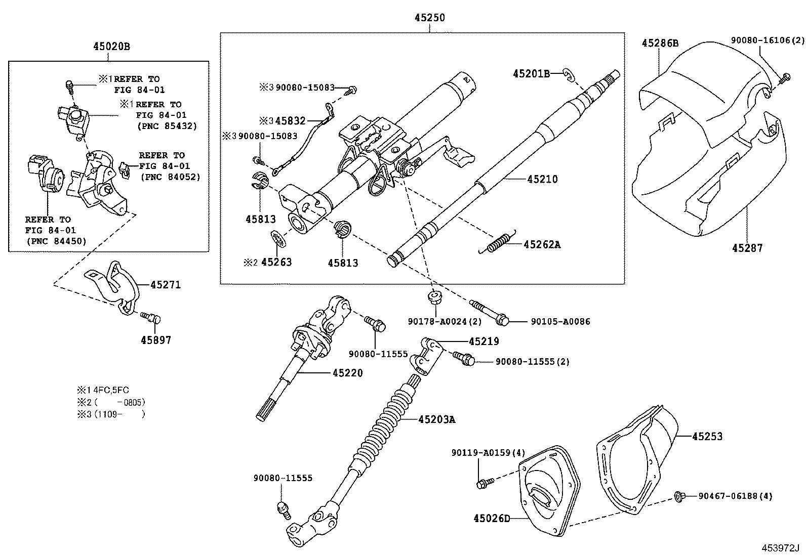 Toyota Tacoma Shaft Assembly Steering Intermediate