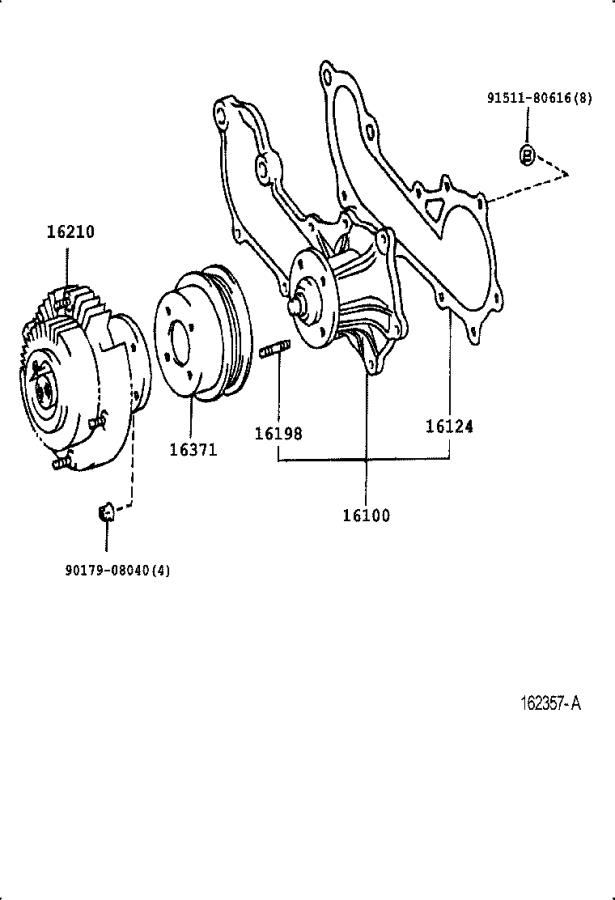 1998 Toyota Tacoma Towing Options, Fan Fluid Coupling
