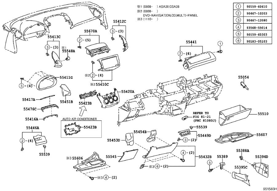 Toyota RAV4 Fuse Box Cover. Cover, Fuse Box Opening. SAND