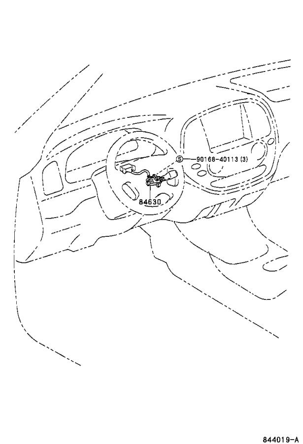 Toyota Sequoia Wire, cruise switch. Electrical, usa