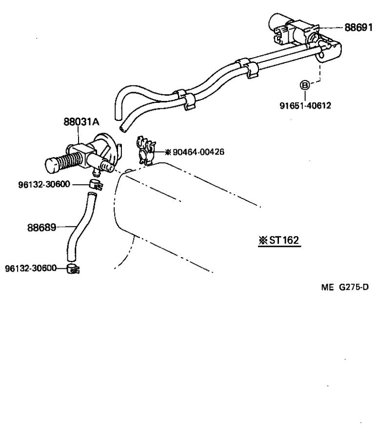 Toyota Celica Diaphragm sub-assembly, idle-up actuator