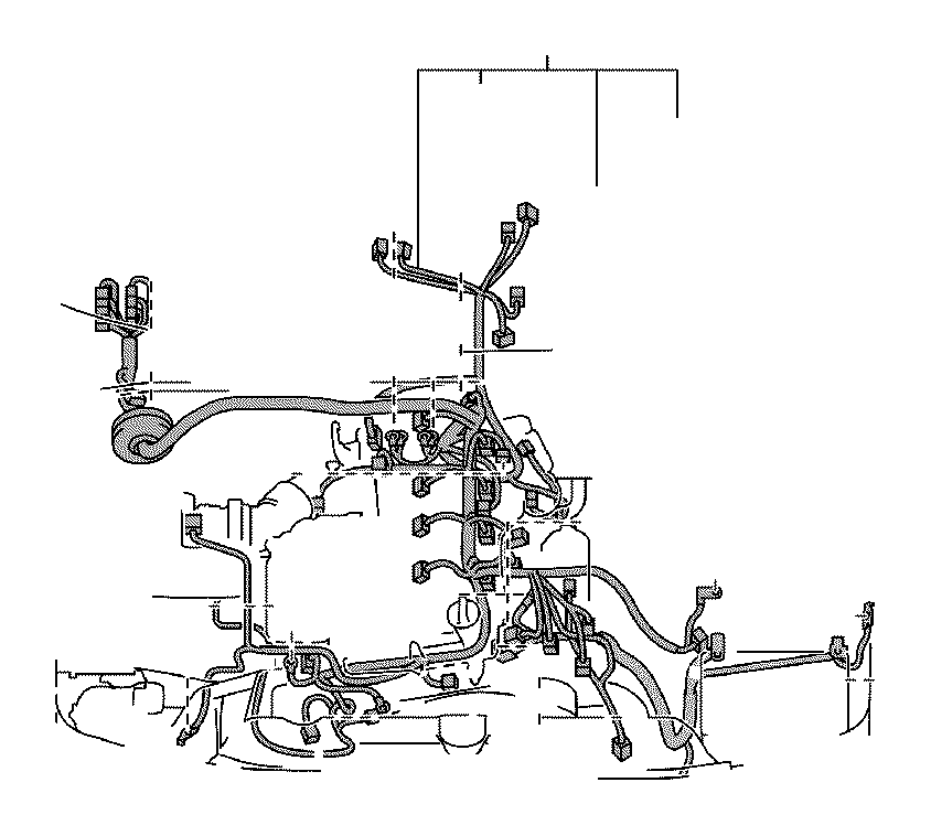 Toyota 4Runner Wire, engine. Clamp, connector, frame