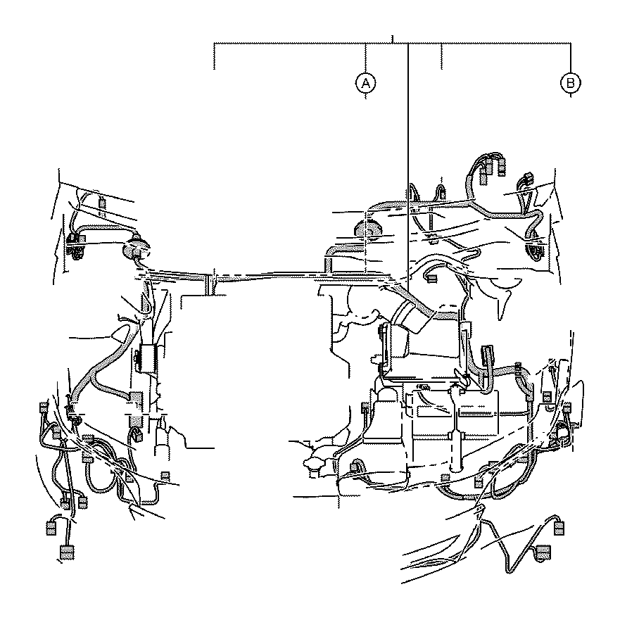 Toyota Avalon Wire, engine room main. Connector, clamp