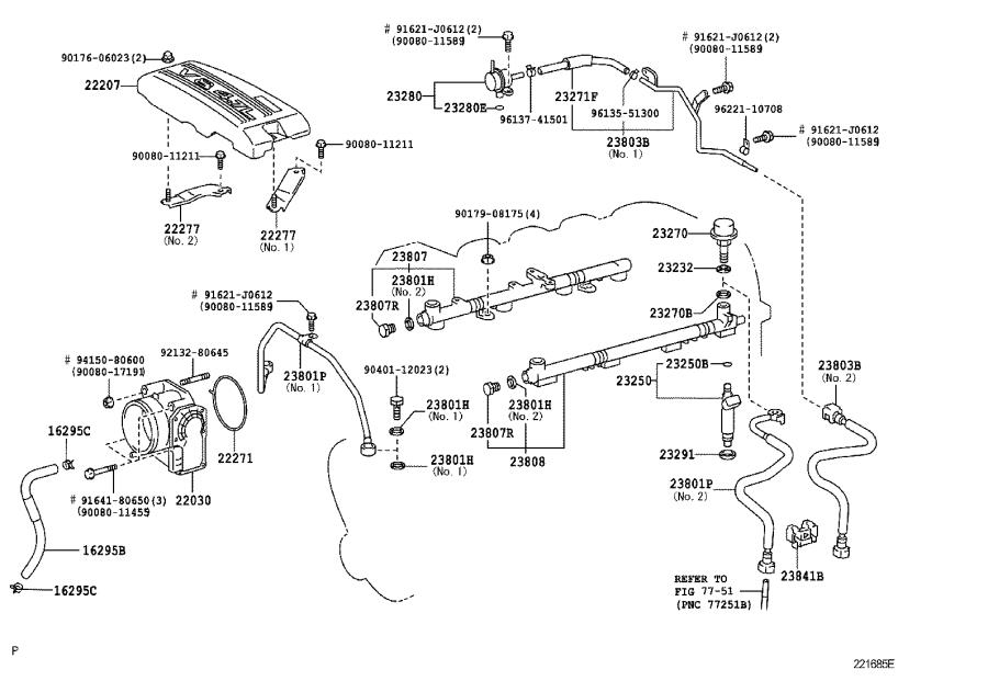 Toyota Sequoia Electric Fuel Pump. SYSTEM, INJECTION