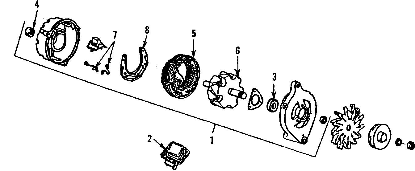 Ford Mustang Voltage Regulator. Amp, Models, External