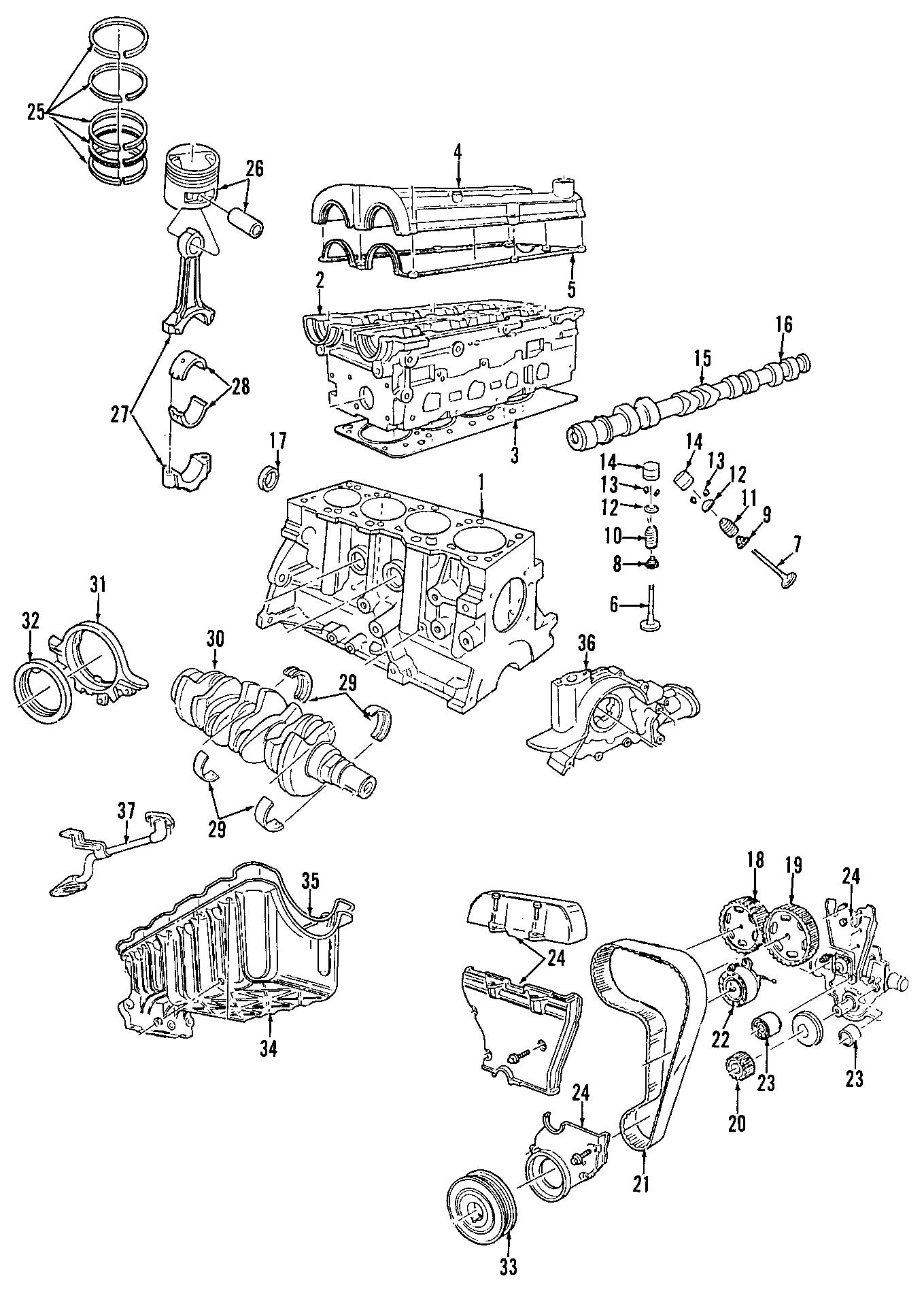 Mercury Cougar Engine Timing Belt Idler. Left, Side, DOHC