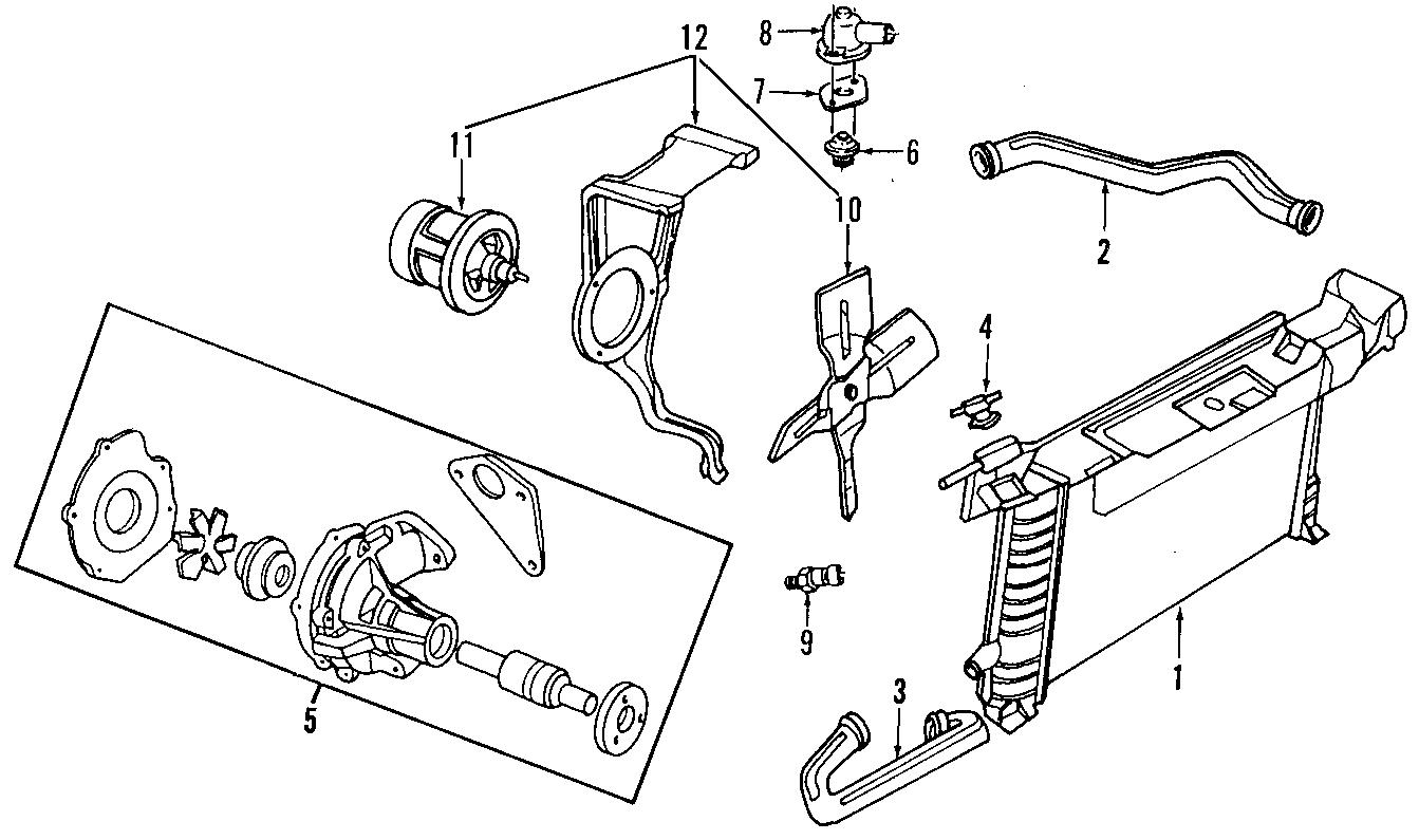 Ford Ranger Gasket. Thermostat. Coolant. Engine. 3.0 LITER