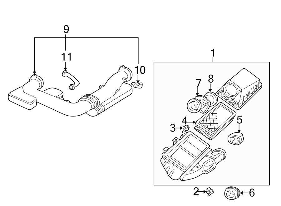 Ford Thunderbird Air Charge Temperature Sensor. LITER