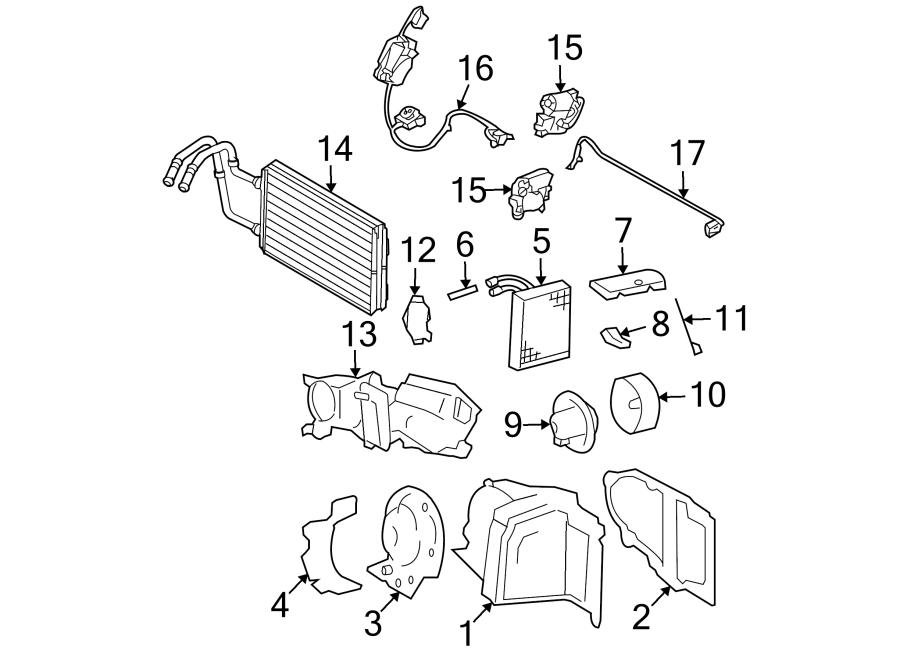 Lincoln Town Car Air conditioning (a/c) orifice tube