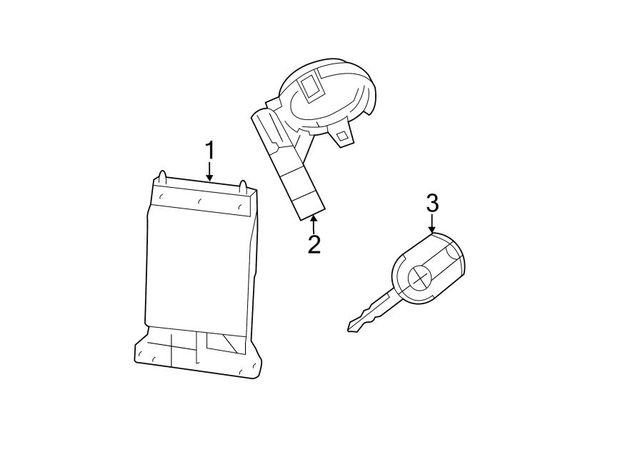Lincoln MKZ Module. Receiver. Door. Lock. Control. Fusion