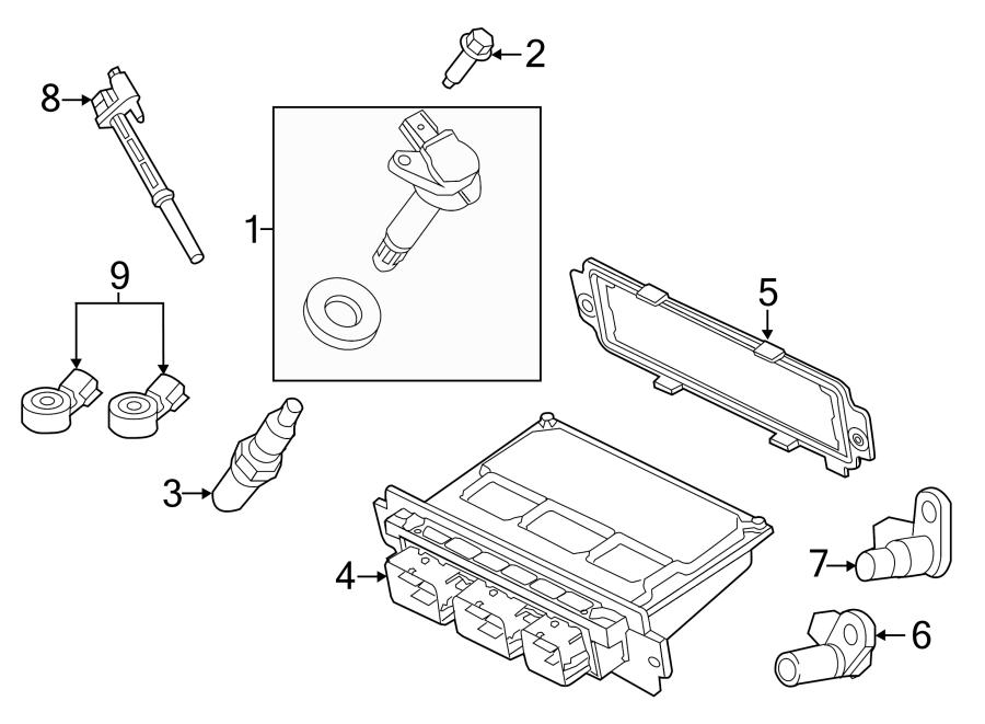 Ford F-150 Spark Plug. 5.0 LITER. 5.0 LITER, 2015-17. 5.2