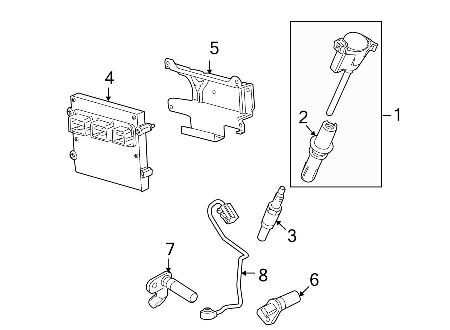 Ford F-150 Engine Control Module. 5.4 LITER, code TBN2