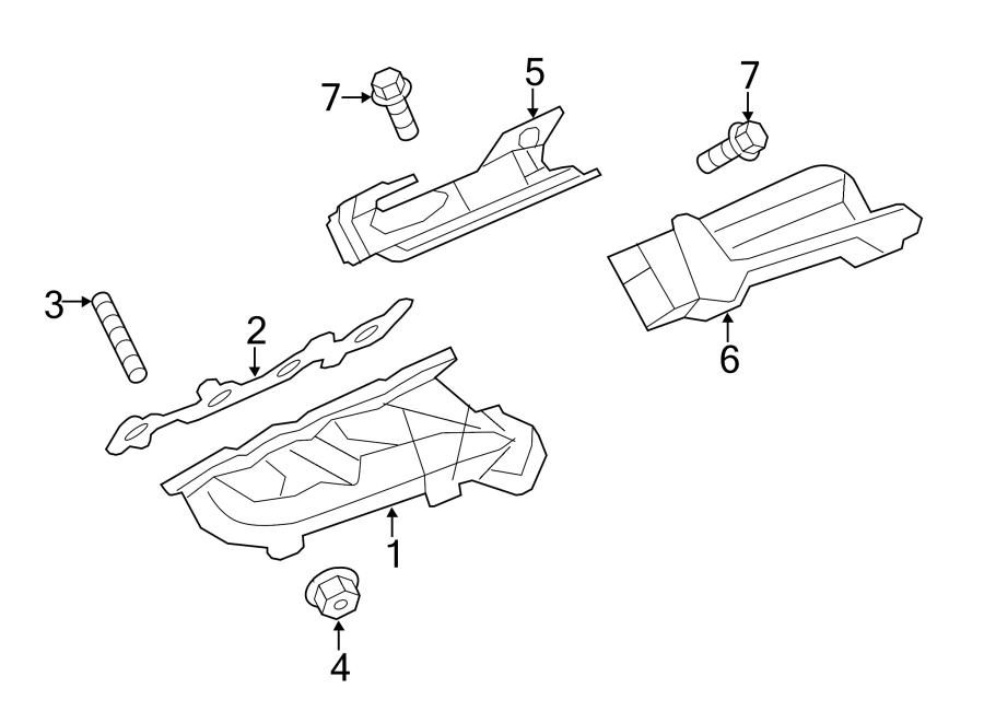 Ford F-150 Exhaust Manifold. 5.0 LITER. F150; 5.0L; Left
