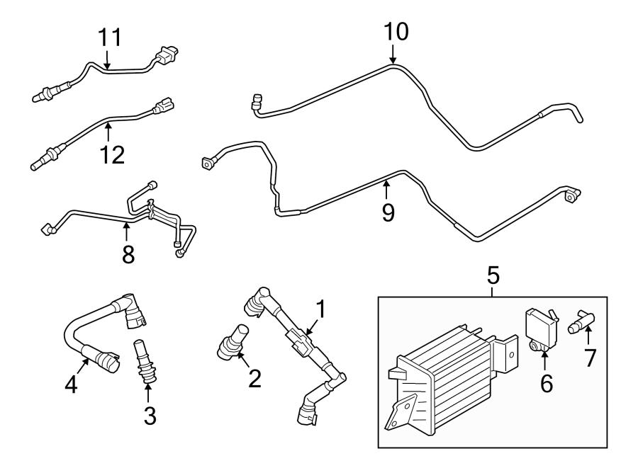 Ford F-150 Oxygen Sensor. EMISSION, LITER, Repair