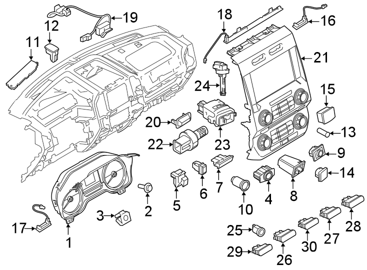 Ford Expedition Traction Control Switch. May, Ctl