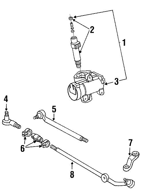 Ford Econoline Super Duty Steering Tie Rod End Adjusting