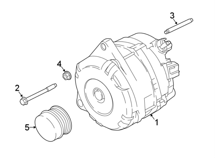 Ford Explorer Alternator Pulley. LITER, ALTERNATORS, WDUAL