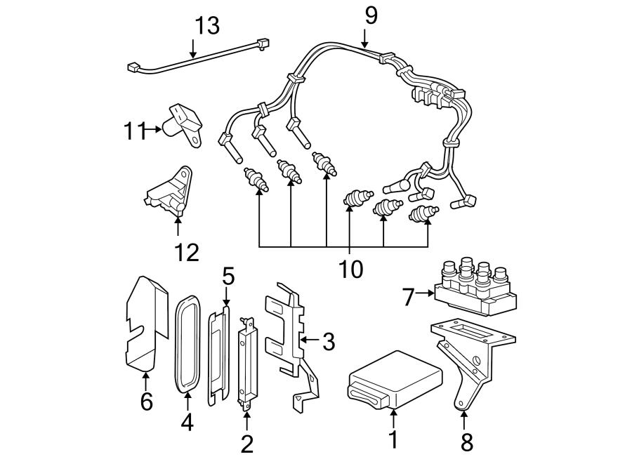 Ford Explorer Spark Plug Wire Set. Set. Plug. Wire. CABLE