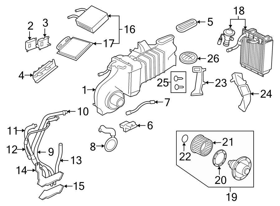 Ford Explorer 1998 Air Condition Schematic : Ford Explorer