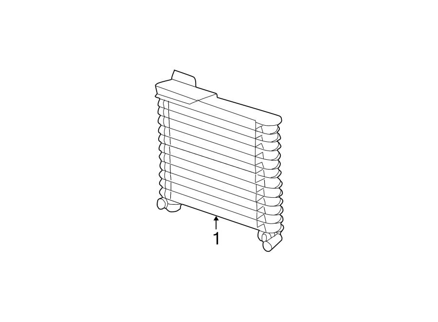 Ford Explorer Automatic Transmission Oil Cooler. 2.5 LITER