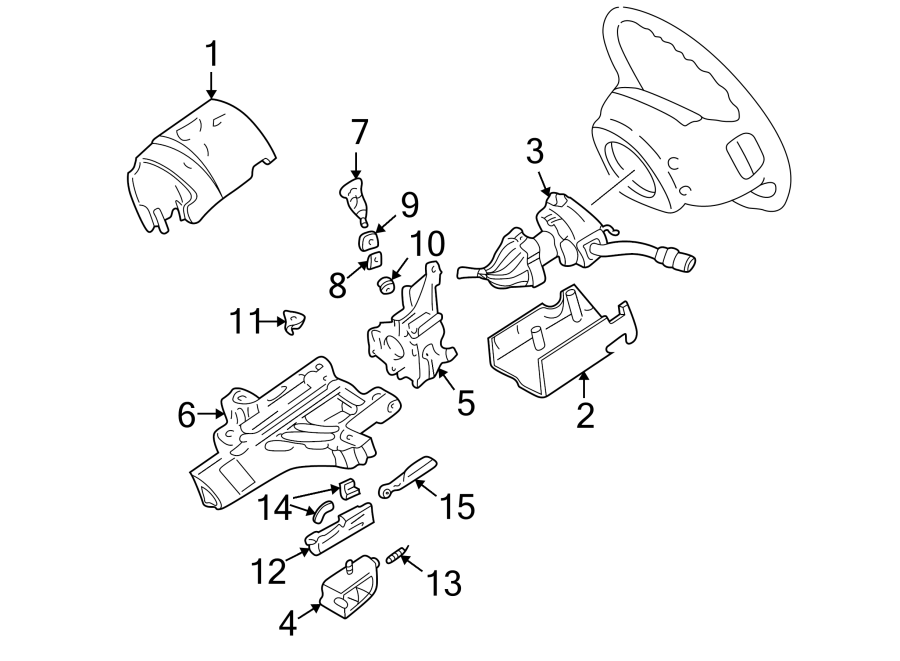 Ford Explorer Pawl. Lock. ARM. Automatic Transmission