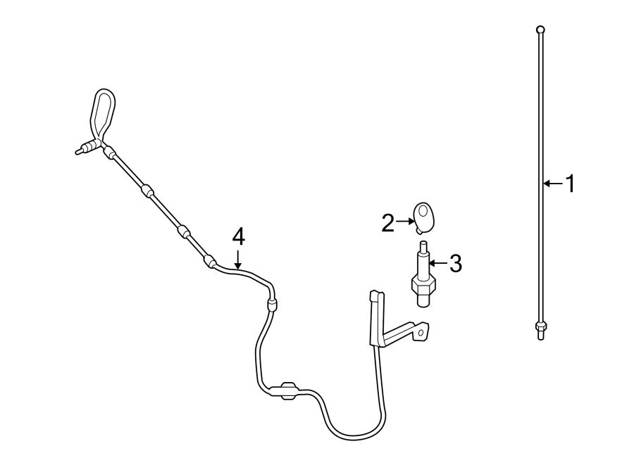 Ford Explorer Sport Trac Antenna Bezel. FIXED, W/O