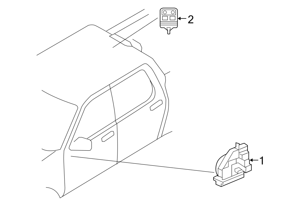 Ford Explorer Sport Trac Kit. Alarm/KEYLESS. Control
